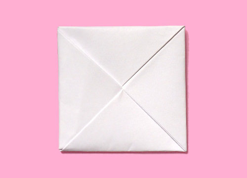 すべての折り紙 手紙 折り方 三つ折り : ... の折り方 | 手紙の折り方ガイド