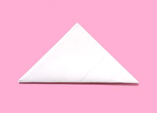クリスマス 折り紙 簡単手紙の折り方 : letters.tank.jp